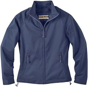 North End Ladies Micro Twill Mid Length Jacket