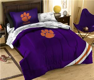 Northwest NCAA Clemson Tigers Twin Bed in Bag