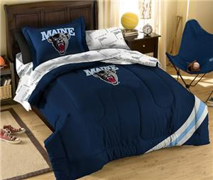 Northwest NCAA Maine Black Bears Twin Bed in Bag