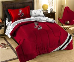 Northwest NCAA North Carolina St Twin Bed in Bag