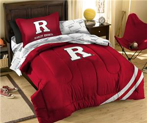 Northwest NCAA Rutgers University Twin Bed in Bag