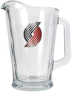 NBA Portland Trailblazers Glass Beverage Pitcher