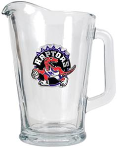 NBA Toronto Raptors Glass Beverage Pitcher
