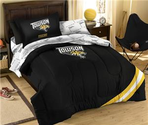 Northwest NCAA Towson Tigers Twin Bed in Bag