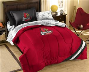 Northwest NCAA Louisville Twin Bed in Bag