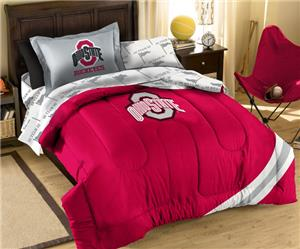 Northwest NCAA Ohio State Twin Bed in Bag