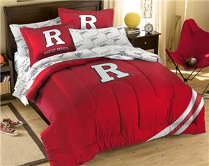 Northwest NCAA Rutgers University Full Bed in Bag