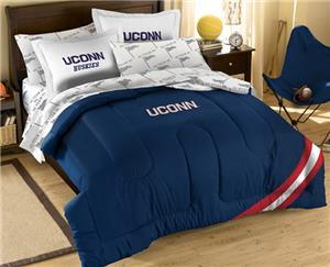 Northwest NCAA UCONN Huskies Full Bed in Bag