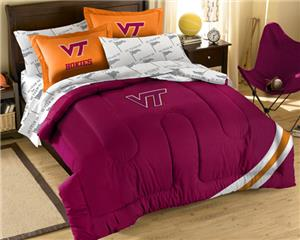 Northwest NCAA Virginia Tech Full Bed in Bag