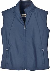 North End Ladies Full Zip Lightweight Windvest