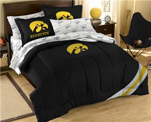 Northwest NCAA Iowa Hawkeyes Comforter Sets