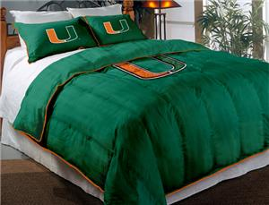 Northwest NCAA Miami Hurricanes Comforter Sets