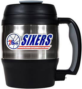 NBA Philadelphia 76ers 52oz Macho Travel Mug