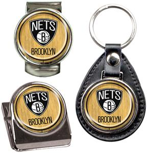 NBA Brooklyn Nets Keychain/Money Clip/Magnet Clip