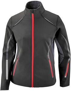 North End Sport Pursuit Ladies 3-Layer Jacket
