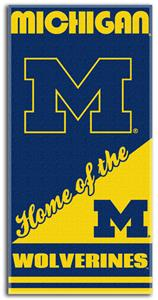 Northwest NCAA Michigan Wolverines Beach Towels