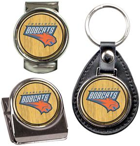 NBA Charlotte Bobcats Keychain/Money Clip/Magnet