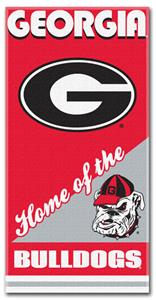 Northwest NCAA Georgia Bulldogs Beach Towels