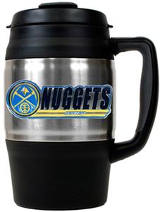 NBA Denver Nuggets 34oz Thermal Travel Mug