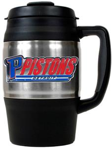 NBA Detroit Pistons 34oz Thermal Travel Mug
