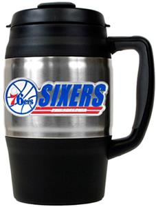NBA Philadelphia 76ers 34oz Thermal Travel Mug