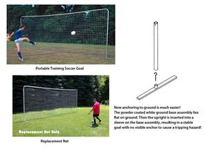 Portable Training Soccer Goal 8'H x 24'W