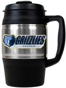 NBA Memphis Grizzlies 34oz Thermal Travel Mug