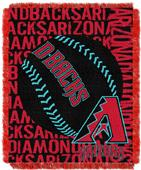Northwest MLB Arizona Diamondbacks Jacquard Throws