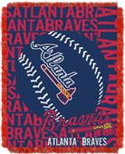 Northwest MLB Atlanta Braves Jacquard Throws