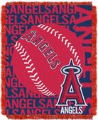 Northwest MLB Los Angeles Angels Jacquard Throws