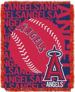 Northwest MLB Los Angeles Angels Jacquard Throws