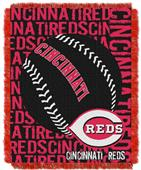 Northwest MLB Cincinnati Reds Jacquard Throws