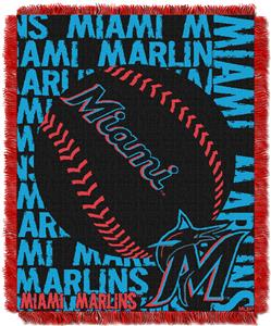 Northwest MLB Miami Marlins Jacquard Throws