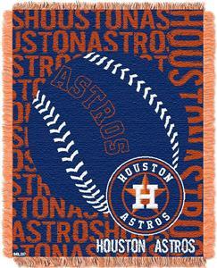 Northwest MLB Houston Astros Jacquard Throws
