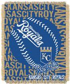 Northwest MLB Kansas City Royals Jacquard Throws