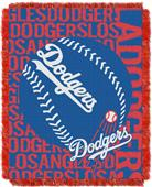 Northwest MLB Los Angeles Dodgers Jacquard Throws