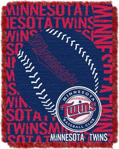Northwest MLB Minnesota Twins Jacquard Throws