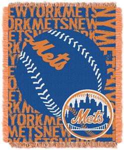 Northwest MLB New York Mets Jacquard Throws