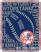 Northwest MLB New York Yankees Jacquard Throws