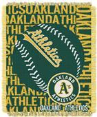 Northwest MLB Oakland Athletics Jacquard Throws