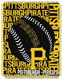 Northwest MLB Pittsburgh Pirates Jacquard Throws