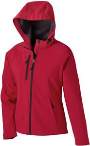 North End Prospect Ladies Soft Shell Jacket w/Hood