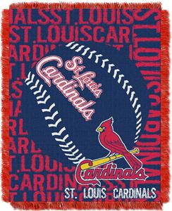 Northwest MLB St. Louis Cardinals Jacquard Throws