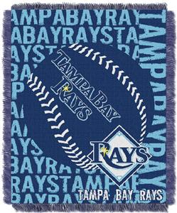 Northwest MLB Tampa Bay Rays Jacquard Throws