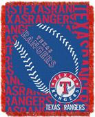 Northwest MLB Texas Rangers Jacquard Throws