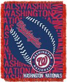 Northwest MLB Washington Nationals Jacquard Throws