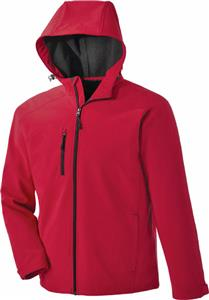 North End Prospect Mens Soft Shell Jacket w/Hood