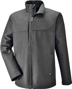 North End Mens Textured City Soft Shell Jacket