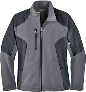 North End Ladies Compass Color Block Jacket