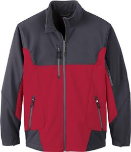 North End Mens Compass Color Block Jacket